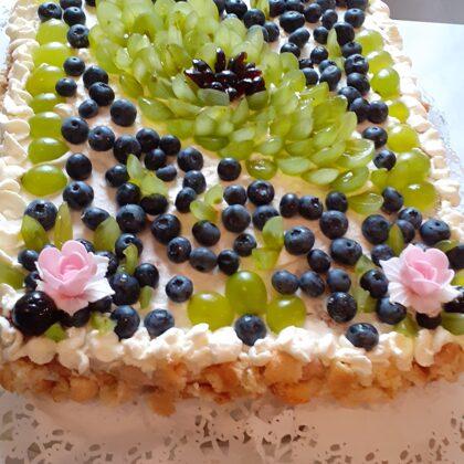 Visiem klientiem un darbiniekiem svinam dzimšanas dienas, dažkārt ar pašceptu torti