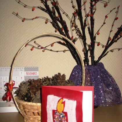 Ik gadu atzīmējot Latvijas Valsts svētkus, ar klientiem kopā gatavojam apsveikumus